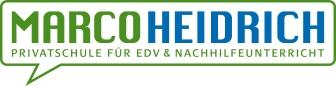 Marco Heidrich Privatschule für EDV und Nachhilfeunterricht Logo